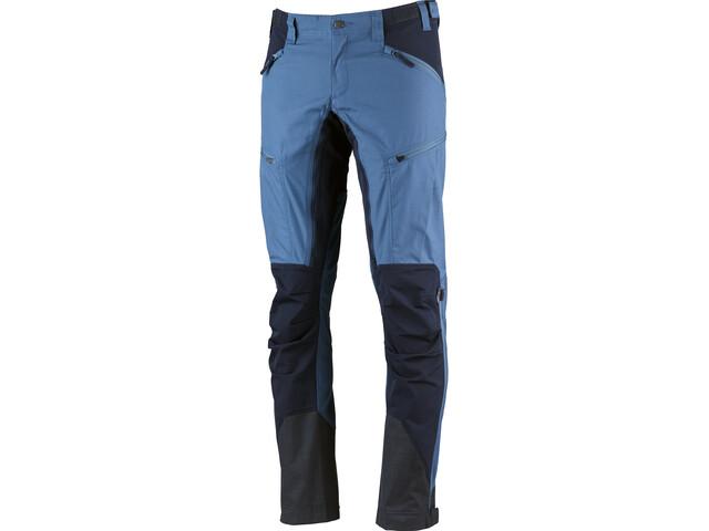 Lundhags Makke Pantaloni Uomo, azure/deep blue